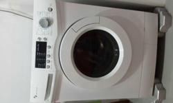 Selling off our EF 7kg front load washing machine. Good
