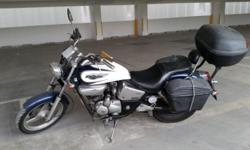 Good condition Honda Phantom 200cc. Great transport
