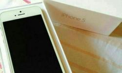 Good Condition iPhone 5 White 16gb Fixed Price do not