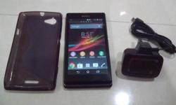 Sony Xperia L (3G, 8GB, with NFC) Phone is in perfect