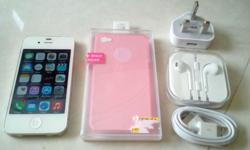 iPhone 4s 16GB, White color. Phone is in perfect