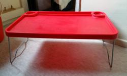2 pcs Used Good handy floding tables, best use on out