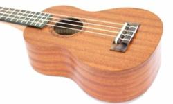 "21"" Soprano Ukulele At $69 W Free pick and bag. Good"