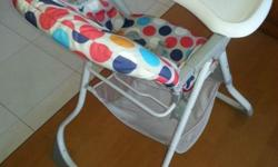 Goodbaby high chair like new. Hardly used. U.P. 89.