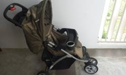 The pram was bought 3 years ago. We didn't use it much