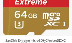 95MB/s SanDisk Extreme Series MicroSD � Upto 95MB/s,