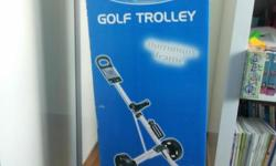 Used Gosen Lite Rider Plus Golf Trolley Condition :