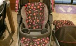 Hi I am selling a preloved Graco travel system that