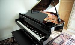 3 year old Yamaha C2 grand piano in excellent