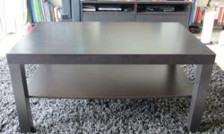 Great deal, ikea black coffee table in good condition