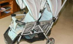Double buggy available immediately for sale with