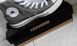 Converse Sneakers/Shoes -Grey/Charcoal -Unisex -Size