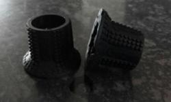 Original Gripshift Black Rubber Grips Replacement for
