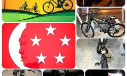 Selling newly gifted branded mountain bicycle that made