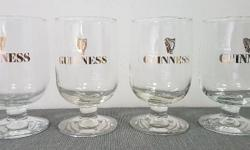 Guinness Extra Stout Beer glass mug 420 ml (Set of 4