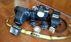 Pre-owned Nikon F2 for sale.