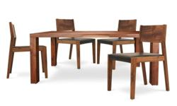Gunne Dining Table with 4 Jacob Chairs (Free delivery)