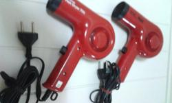 2 units of National Hair Dryer EH5431 700w with HOT and
