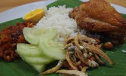 We bring you real ethnic Nasi Lemak to your doorstep in