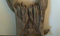 REDUCED TO SELL Beautiful Hand-Carved Buddha Statue in