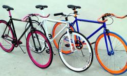 Harris Fixie In black,blue,red,white Flat bar $179