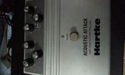 Hartke Acoustic Attack Pedal for sale. Note that the