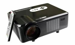 HD Home Theater LED Projector w/ 3000 lumens, 1280*800