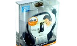 HEADPHONE CREATIVE HS 390 work with Skype, Window Live