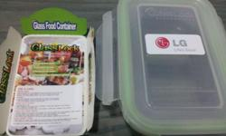 Glassfood container (heavy duty) by Glasslock suitable