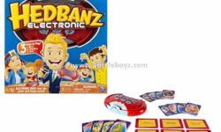 Hedbanz Electronic Card Game Age: 7+ Price: 28 SGD - 3