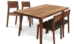 Hella Dining Table with 4 Jacob Chairs (Free delivery)