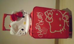 Brand new original Sanrio red Hello Kitty cabin luggage