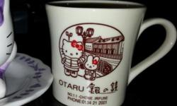 Hello Kitty Ceramic Mug, Bought In Japan Hokkaido Otaru