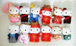 ~~~ HeLLo KiTTy CoLLecTiBle SoFT Toy SeT $118 ~~~ One