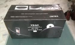 SOLD to a kind gentleman. TEAC HI-Fi Radio / CD - SR
