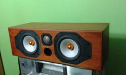 SOLID QUALITY MONITOR AUDIO CENTRE SPEAKER, MADE IN
