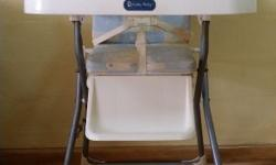 Used high chair brand is Lucky Baby selling at $50, it
