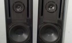 HIGH END DENON TOWER SPEAKERS OVERTURE 90.3. Good