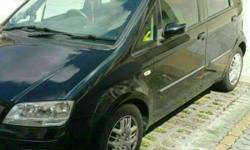 Black Mini MPV car but 5 seater spacious car for