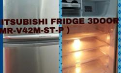 SecondHand Place Selling This HITACHI FRIDGE 3 DOOR ( W
