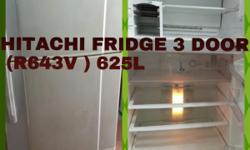 Second Hand Place Selling This HITACHI FRIDGE 3 DOOR (