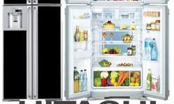 Hitachi double door refrigerator in excellent