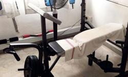 Hi, I'm letting go my home gym Bench press set (not