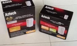 New Aztech Powerline 200Mbps Set with Wireless-N