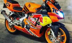 CBR 400 rr L ( L means laju ) Unrestricted coe 2021