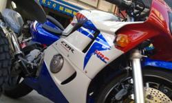 HONDA CBR FOR SALE. NEW PAINT WORK! SUPERB ENGINE