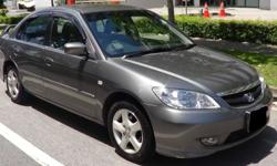 Honda Civic 1.6A: $94/day or $1500/month! Includes 24