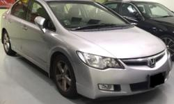 Honda Civic We have a few units available, 1.6A, 1.8A,