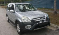 A) 4wheel drive, powerful Honda CRV, with huge booth,