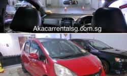 Honda Fit with Skyroof for Rental! No PHV Decal. Auto